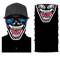 Бафф маска на обличчя Venom