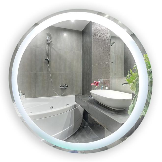 Зеркало LED (80*80*2,5см) VZ-D61 с сенсором