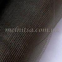 Фатин  коричневый, ширина 1,40 м