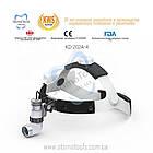 Стоматологические бинокулярные луппы со светом KWS KD-202A-4 KIT (линза Галилея), фото 9
