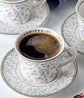 """Фарфоровый кофейный набор """"Эмили"""" 120 мл Lefard 924-010"""