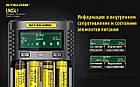 Универсальное зарядное устройство Nitecore UMS4, 4 канала, Ni-Mh/Li-Ion/IMR/LiFePO4 (3.6-4.35V), USB QC2.0,LCD, фото 8