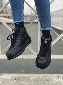 Жіночі кросівки Adidas Rick x Owens Black