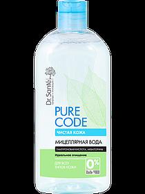 Мицеллярная вода для всех типов кожи 500 мл Dr.Sante Pure Cоde