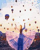 Картина по номерам. Каппадокия, воздушные шары, 40*50 см, Brushme, в коробке