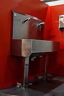 Умывальник двух постовой педальный  , фото 1