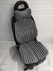 Ортопедична еко подушка - накидка для авто крісла і підголівник EKKOSEAT. Універсальна.