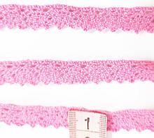 М071 Мереживо натуральне рожеве 1 см
