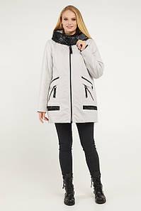 Женская весенняя куртка больших размеров 52-62