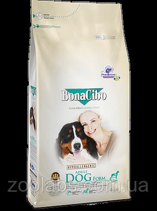Корм BonaCibo для собак с избыточным весом всех пород с курицей и анчоусом   BonaCibo Adult Dog Form 4 кг, фото 2
