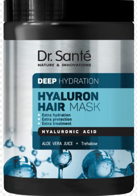 Маска для волосся Dr.Sante Hyaluron Deep hydration 1000мл