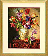 Набор для вышивания Dimensions 70-35305 Parrot Tulips Cross Stitch Kit