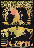 "Набор для вышивания Fairy Tales Little Red Riding Hood ""Червона Шапочка"", XFT2"