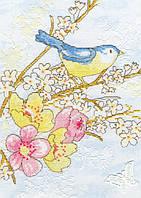 "Набор для вышивания Dream Bird ""Замріяна пташка"",  XSH2"