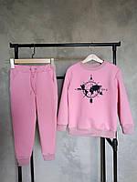 Костюм для дівчат рожевий. Дитячий одяг. Спортивні костюми дитячі.Костюм для дівчинки