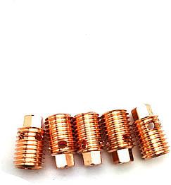 Корпус цанги Ø0.5х12мм 53N17 для Горелок TIG 24 - 24W упаковка 10 штук