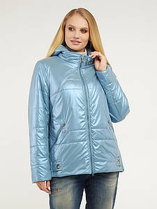 Женская весенняя перламутровая куртка