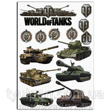 Вафельная картинка worldoftanks танки