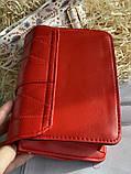 Яркая красная стильная сумка, фото 4