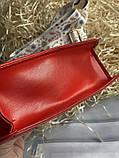 Яркая красная стильная сумка, фото 6