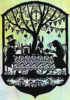 "Набор для вышивания Fairy Tales Mad Hatter's Tea Party ""Чаювання божевільного Капелюшника"", XFT5"