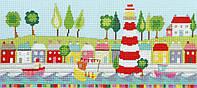 Набор для вышивания Bothy Threads Funky Lighthouse, XCR4