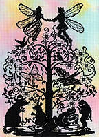 "Набор для вышивания Fairy Tales Thumbelina ""Дюймовочка"", XFT8"