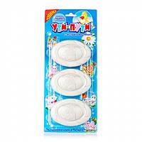 Детское туалетное мыло Ути-пути с экстрактом ромашки планшет 3 шт х 80 г