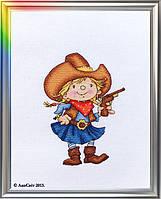 """Набор для вышивания """"Помощница шерифа"""""""