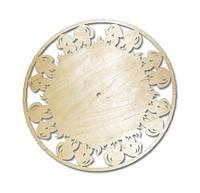 Циферблат часы Грибы 31х31 см