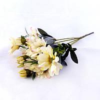 Хризантема осень 30см ткань 357 357