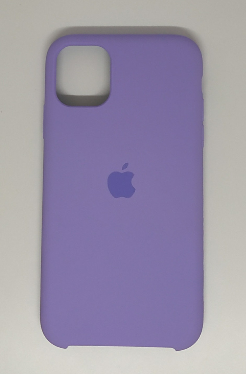 "Чехол Silicon iPhone 12 - ""Сирень №41"""