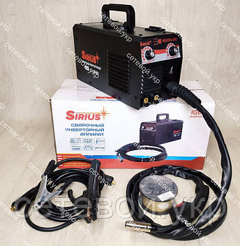 Зварювальний напівавтомат 2 в1 Sirius MIG/MMA-260, фото 2