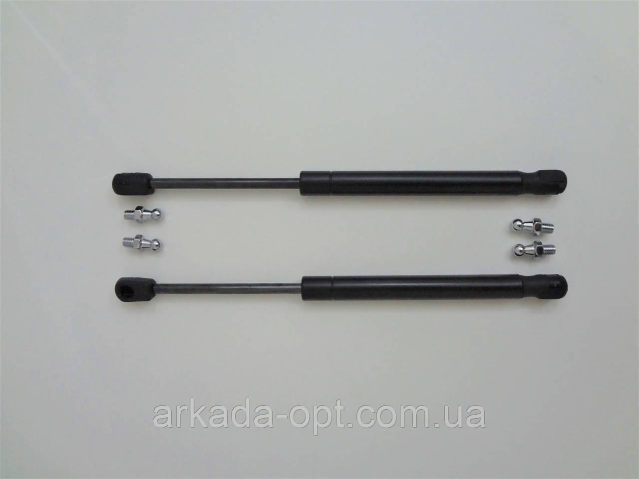 Газовый амортизатор упор двери Aurora 450мм 280Н черный GS-ZA1102 комплект 2 шт.