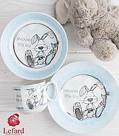 """Набор детской посуды """"Любимый зайка"""" 985-048"""