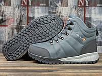 Зимние мужские кроссовки Kajila Fashion Sport серые. Наличие размеров в описании