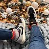 Жіночі кросівки Air Jordan 1 Retro High Neutral Grey Hyper Crimson 555088-018, фото 6