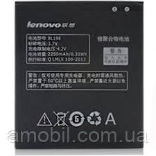 Акумулятор Lenovo BL198 2250 mAh orig ( A830 / A850 / A859 / A880 / K860 / S880 / S890 / S920)