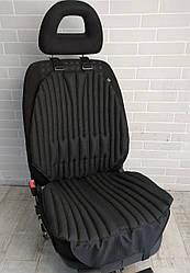 Ортопедична еко подушка - чохол на авто крісло EKKOSEAT. Двостороння (літо і зима).
