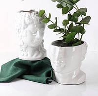 """Набор из 2 керамических ваз """"Он и Она"""""""