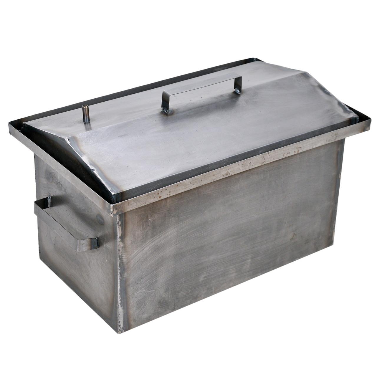 Коптильня горячего копчения 1 мм 520х310х260 мм (РК-242546)