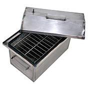 Коптильня горячего копчения 1 мм 520х310х260 мм (РК-242546), фото 3