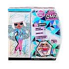Игровой набор с куклой L.O.L. SURPRISE! серии O.M.G Winter Chill – Ледяная Леди 570240, фото 6