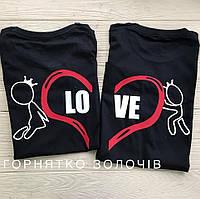 Парні футболки LOVE