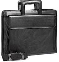 """Деловой портфель для документов с отделением для ноутбука 15,6"""" JPB LAP-10 черный"""