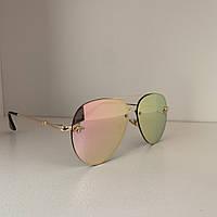 Солнцезащитные очки женские Guc 3 розовый