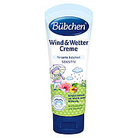 Крем для обличчя и тіла при вітрі і непогоді Bubchen 75 мл (7613034884077)