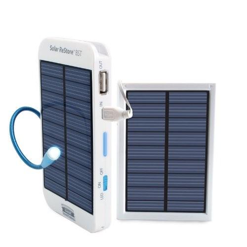 Портативная солнечная батарея с дополнительной панелью