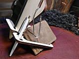 Настольный органайзер,  подставка под телефон, фото 3