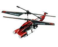 Вертолет на дистанционном управлении PHANTOM INVADER контроль высоты красный, 20 см, с гироскопом